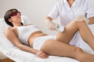 tüm bacak lazer epilasyon sonrasında rahat edersiniz