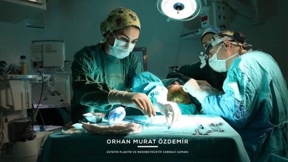 yüz ve boyun germe Estetik Cerrah Op. Dr. Orhan Murat Özdemir