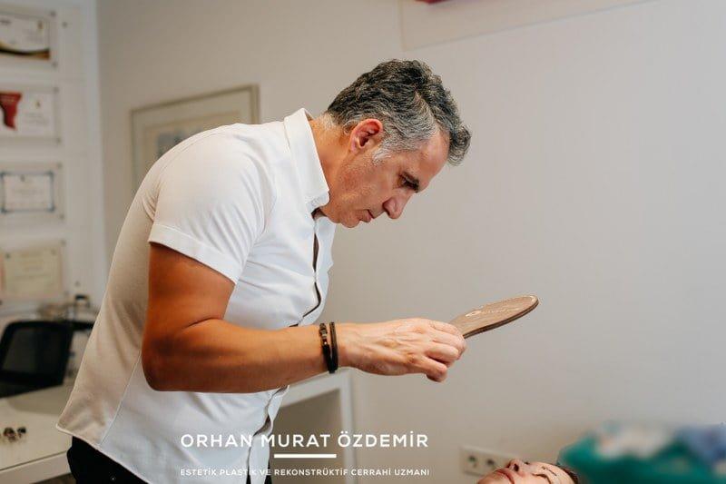 göz kapağı estetiği sonrası Estetik Cerrah Op. Dr. Orhan Murat Özdemir